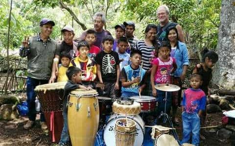 Students of the Atitlan Music School